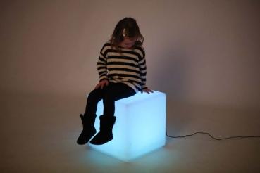 Lys sanse terning