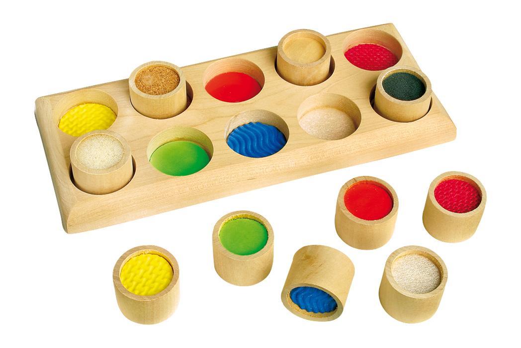 berørings huske sanse leg