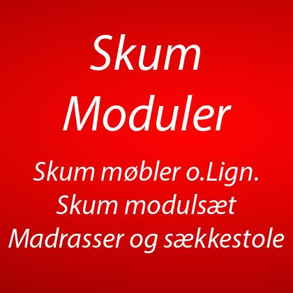 Skum modul sæt, skum møbler, kugle bassin, sækkestole, gymnastik redskaber m.m (11)