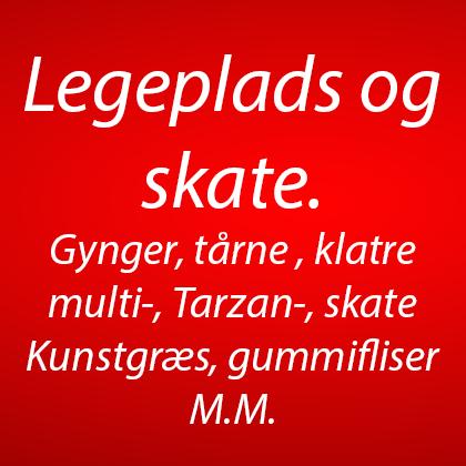 legepladser, skaterbaner, Multibaner, Klatresystemer, Bålhytter, bænkeborde m.m (7)