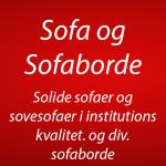 sofa og sofaborde i Institutions kvalitet. (0)