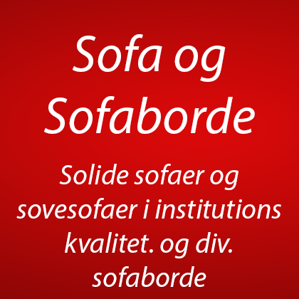 Sofa, Sofaborde, børne sofa, lænestole, Chaiselong sofa og sove-sofa m.m. (0)