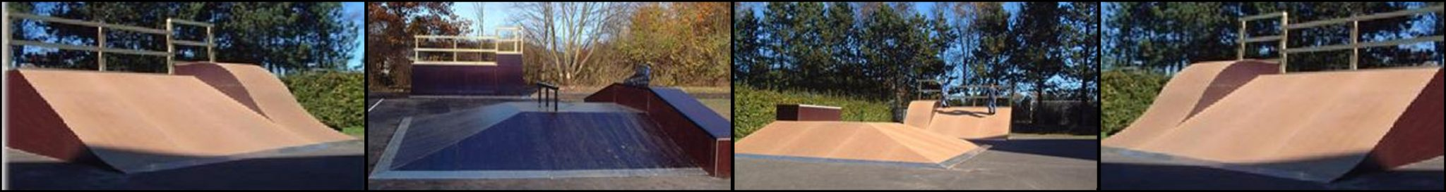 skateboard kombi anlæg