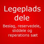 Reservedele til Legeplads, Rutschebaner, svævebaner, Vipper Gynge udstyr m.m(16)