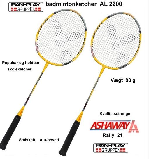 Badmintonketcher til spil og leg i topkvalitet