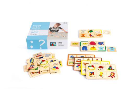 Sprog udviklings spil fra 2-4 år.